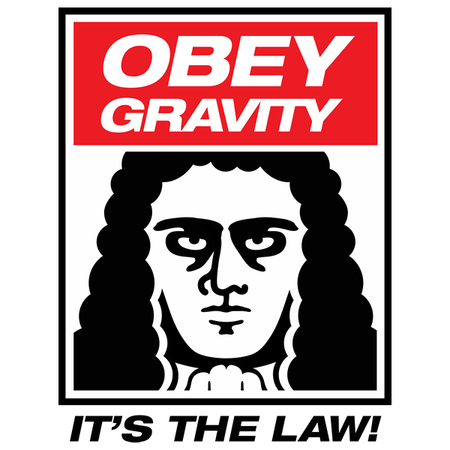 Obey gravity! It's the law!